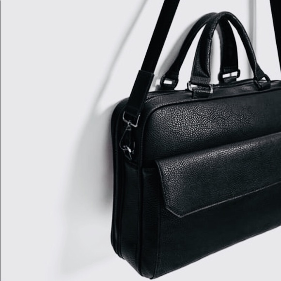 39cd9b41f8 Zara Bags | Host Pick 73 Man Briefcase | Poshmark
